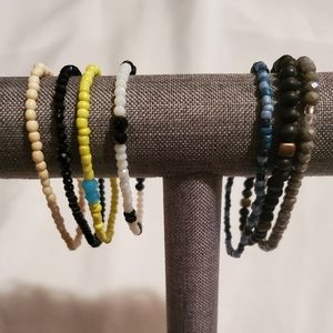 Jewelry,  Anklets and Bracelets  (Men and Women)